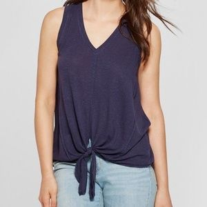 UNIVERSAL THREAD Tie Front Tank Top